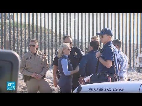 وزيرة الأمن الداخلي الأمريكي تشرف شخصيا على منع وصول قافلة المهاجرين  - نشر قبل 4 ساعة
