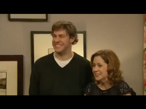 """Folds right into the wall"" The Office Blooper"