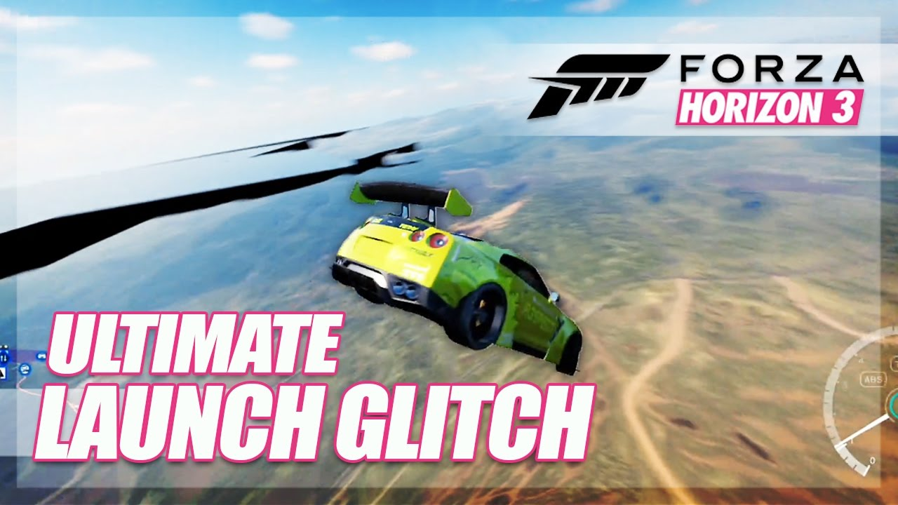 forza horizon 3 ultimate launch air glitch glitches. Black Bedroom Furniture Sets. Home Design Ideas
