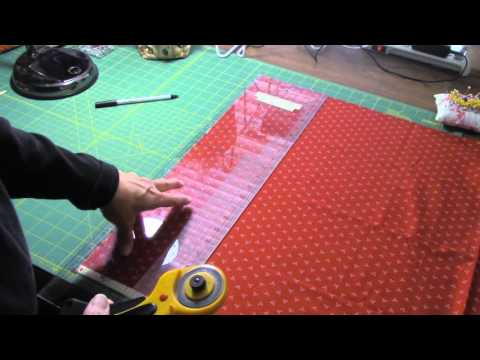 Como cortar telas para hacer patchwork