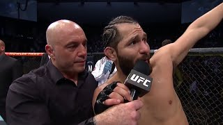 UFC 261: Jorge Masvidal Octagon Interview