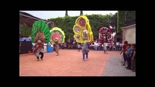 Inauguración de la fiesta de julio 2013 en Santa Ana Maya Michoacán