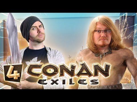 Conan Exiles #4 - CHASING SJIN