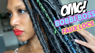 Bobbi Boss Nu Locs | Faux Locs | Soft Locs  - Protective Style for Quarantine