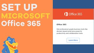 How To Set Up Office 365 Email - HostGator Tutorial