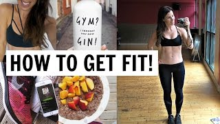 BEGINNERS GUIDE TO GETTING FIT | 8 SIMPLE STEPS!