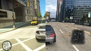 Watch Dogs vs GTA IV [iCEnhancer Graphic Mod]