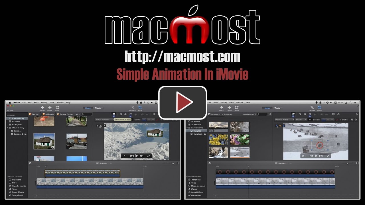 how to add pictures to imovie 2014