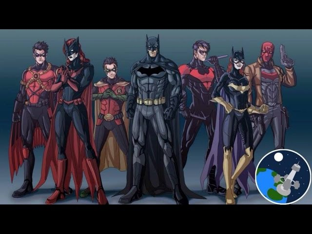 Todos los miembros de la Batifamilia