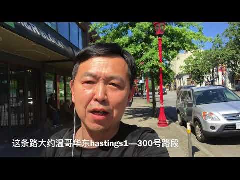 温哥华唐人街有一条路太刺激了,很多华人来了多年不敢去,今天去冒个险!