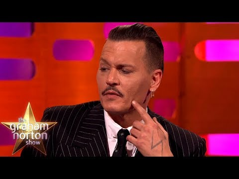 Johnny Depp CANNOT Grow a Beard!  The Graham Norton