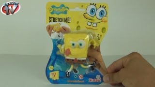 Stretch Me SpongeBob Stretchy Toy Review, Simba