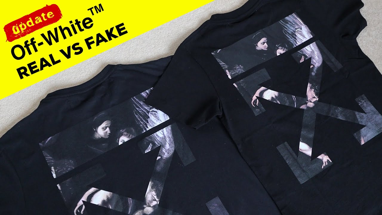 UPDATED Real vs Fake Off White T-shirt Review Guide