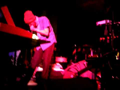 The sounds of Prefuse 73 Live - Part 1