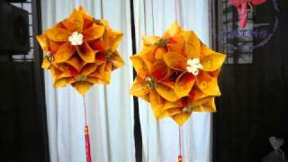 Repeat youtube video Hongbao lanterns (红包花灯) - not a tutorial