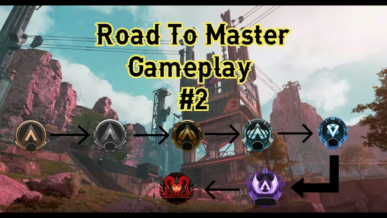 ROAD TO MASTER GAMEPLAY (PS4 APEX LEGENDS)