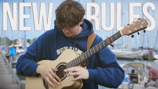 New Rules - Dua Lipa - Fingerstyle Guitar Cover