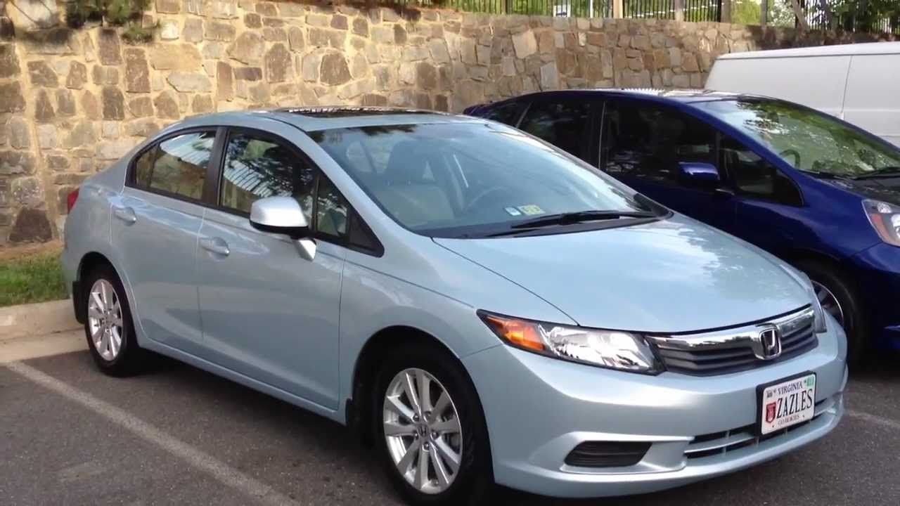 2012 Honda Civic EX L Long Term Review, Start Up U0026 Rev, Extended Test Drive    YouTube