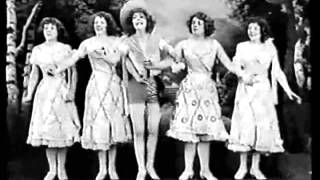 """Asta Nielsen revisitada,1912. Cantam Irmãs Pagãs,1939, """"Pra Que Você Me Tentou""""."""