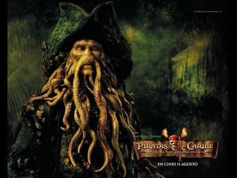 Soundtrack Piratas Del Caribe El Cofre De La Muerte Davy Jones Youtube