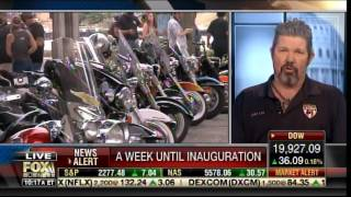 BIKERS FOR TRUMP Vow to Defend Trump Inauguration - Form Wall of Protection