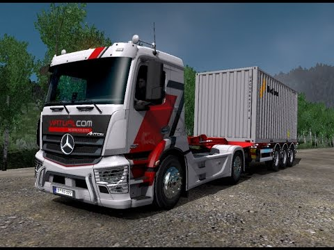 ETS 2 | Mercedes-Benz Antos Classic Space M-Cab 320 Cargo At