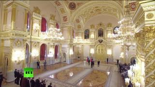 Владимир Путин принимает верительные грамоты у послов иностранных государств