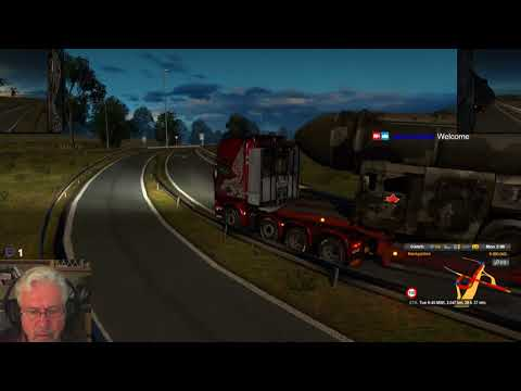 ETS2 - Gramps goes to Russia (4)-Sarov to Naryan-Mars