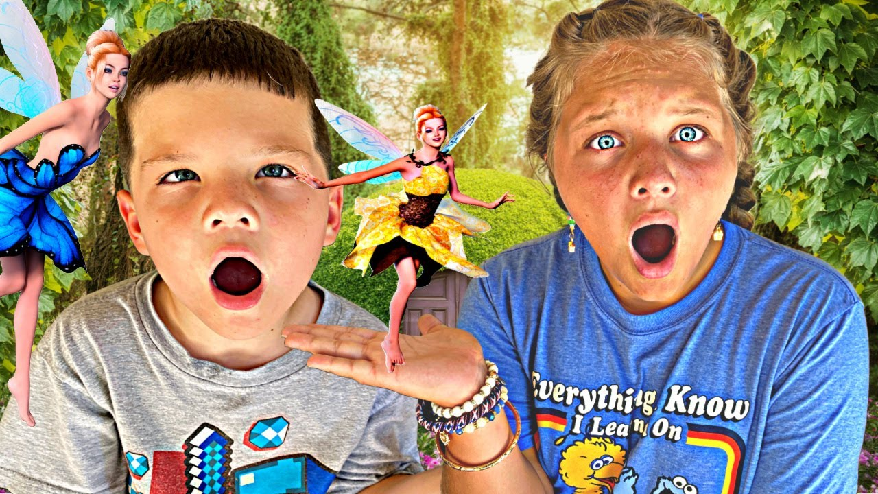 BEACH FAIRIES are BACK!! Fairy in our Backyard! Aubrey and Caleb Open Sweet Suite SWAG BOX