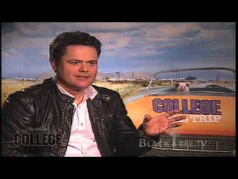 Donny Osmond College Road Trip Interview