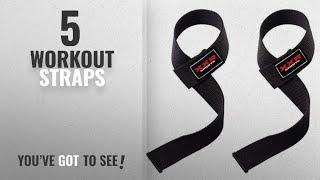 Top 10 Workout Straps [2018]: Power Hand Bar Straps Weight Lifting Straps Cotton Webbing Wrist