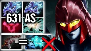 Craziest PA 631 AS Point Blood Dust 2x Shard So Much Critical Hit Imba Carry Phantom Assassin Dota 2