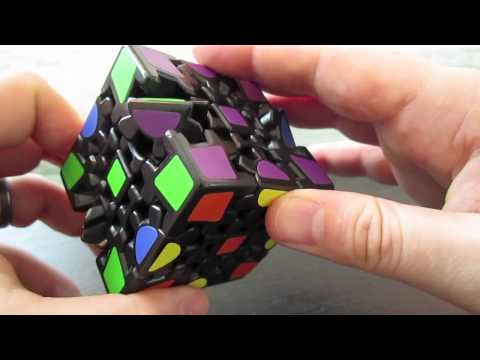 How to solve a Gear Cube
