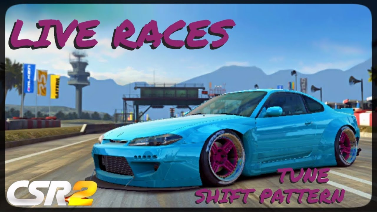 CSR Racing 2 - Silvia Rocket Bunny - Tune and shift pattern - Live races