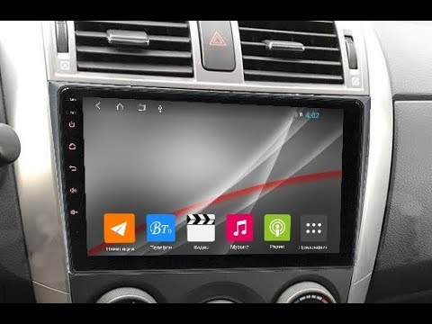 Штатная магнитола Toyota Corolla (2006-2012) 8 Core Android ZOY-3007-T9