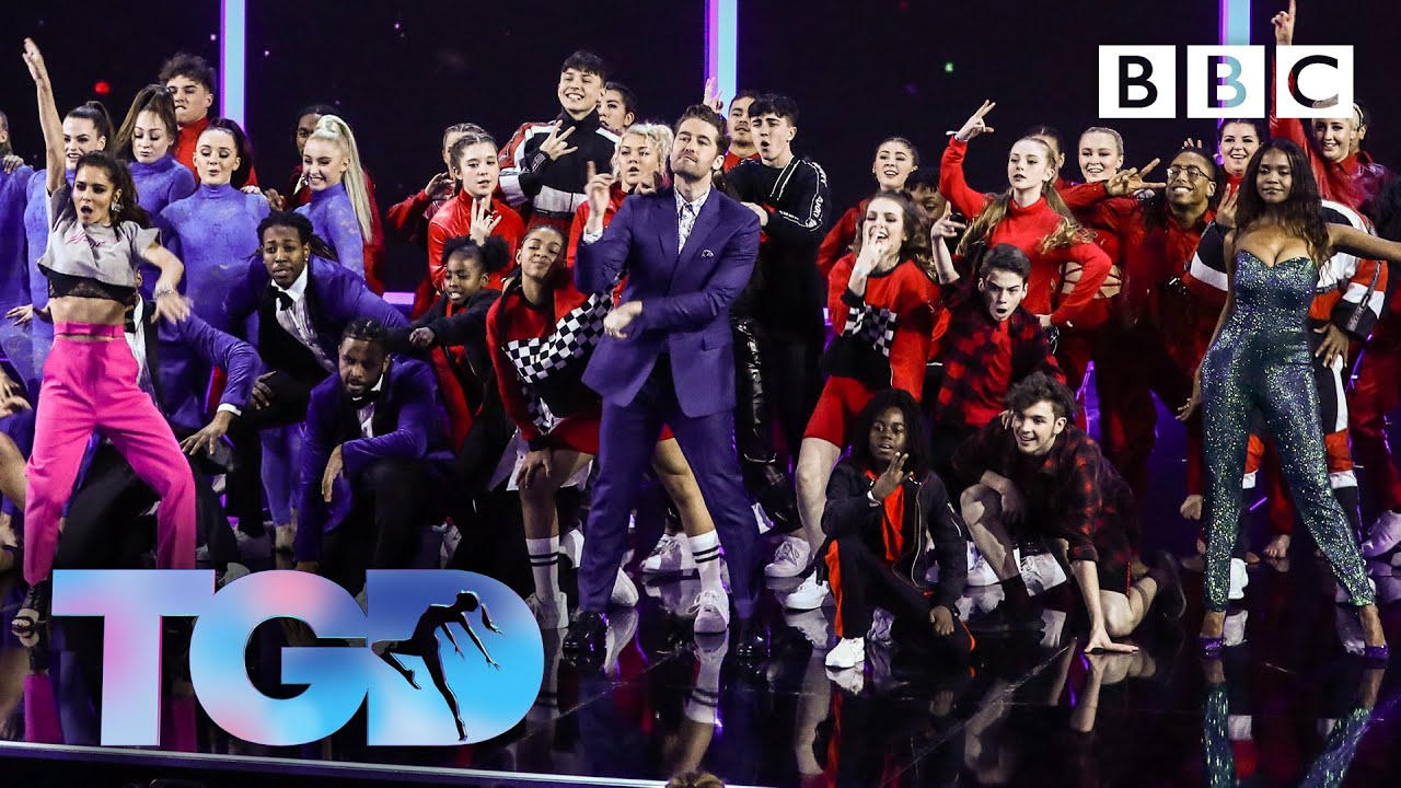 Dance captains and squads open the show to Giant - The Greatest Dancer | LIVE image