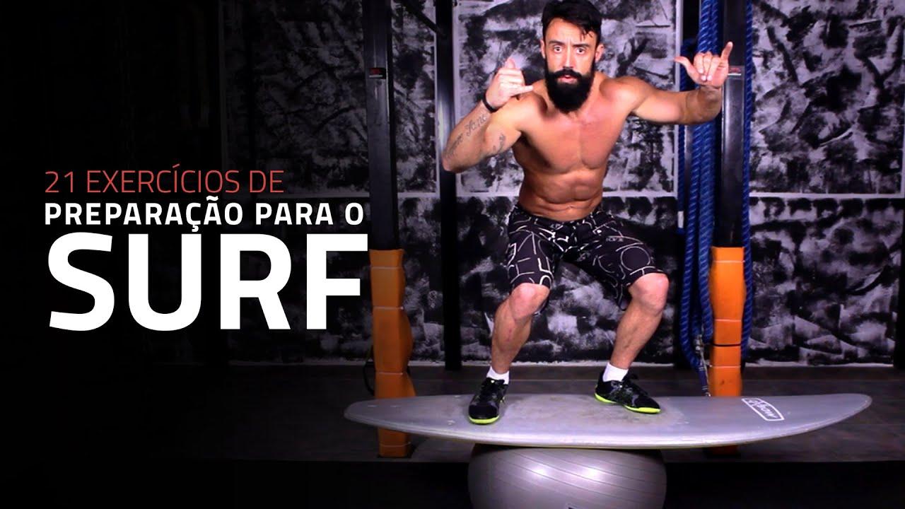 21 Exercícios de Preparação Para o Surf | Sérgio Bertoluci - X21