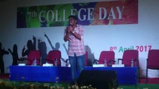Aaris sing kadhal sadukudu song in annual day