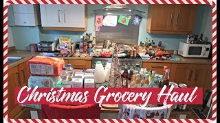 CHRISTMAS GROCERY HAUL & MEAL PLAN - ALDI & WAITROSE - FESTIVE FOOD SHOP - VLOGMAS DAY 21 2017