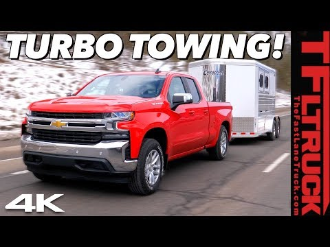 How Does the New 4-Cylinder Chevy Silverado Tow a Max Load Up the World's Toughest Towing Test?