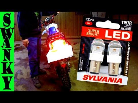 BEST LED Motorcycle Tail Light Bulb | Sylvania ZEVO