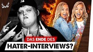 Krasse Kritik: STIRBT das Hater-Interview? • Lisa & Lena moderieren TV-Show!   #WWW