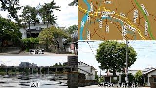 東海道岡崎宿と花火の競演[Network2010]