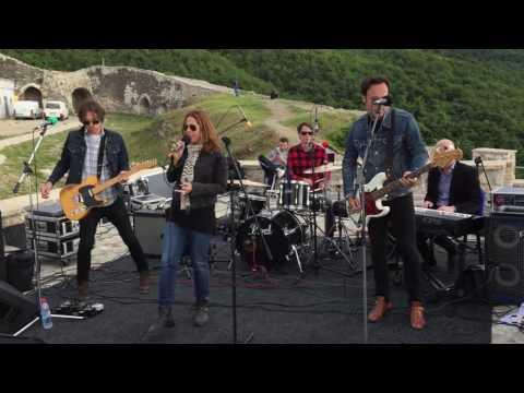 Mary McBride Band Concert at Prizren Castle   Sponsored by U.S. Embassy Pristina
