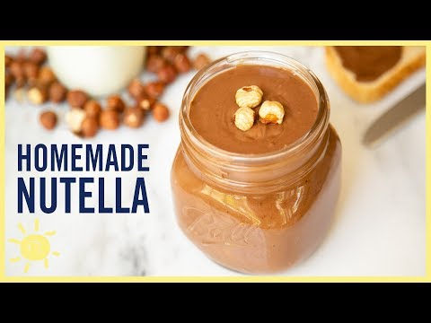 EAT   The Creamiest Homemade NUTELLA