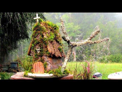 Hypertufa Fairy Church Part Two In Ga.