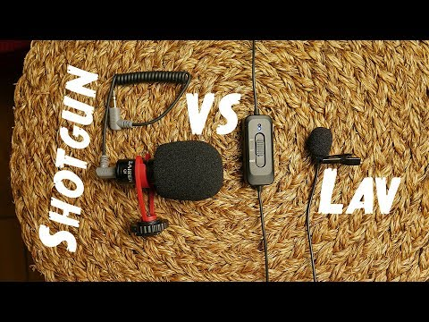 Shotgun Mic Vs Powered Lapel