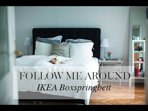 fma ikea boxspringbett youtube. Black Bedroom Furniture Sets. Home Design Ideas
