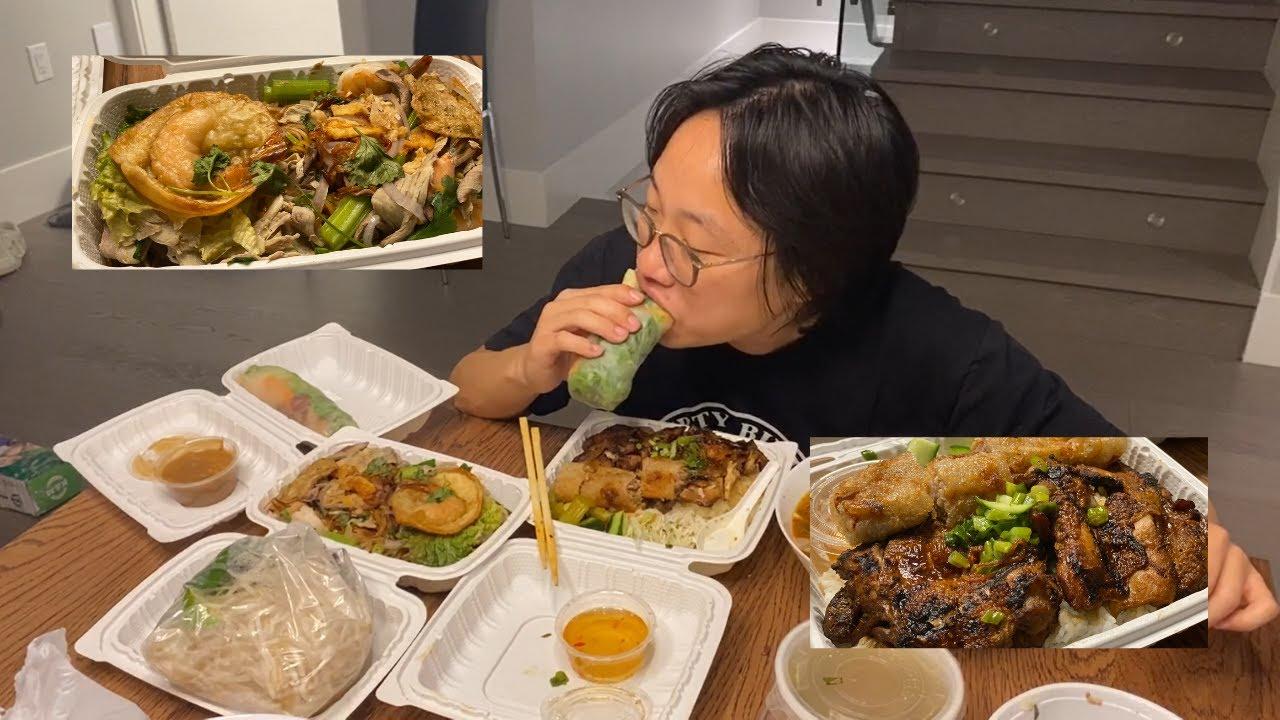 VIETNAMESE MUKBANG | Jimmy's Taste Test