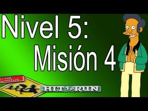 Los Simpsons Hit And Run: Nivel 5-Misión 4,Este Cerdito (Español).